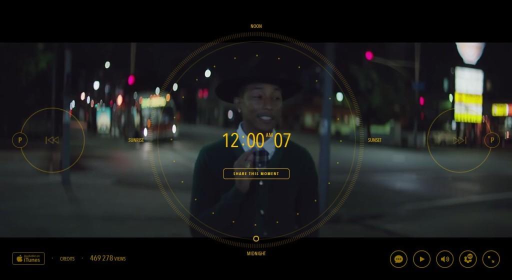世界初の24時間のミュージックビデオがかっこいい!