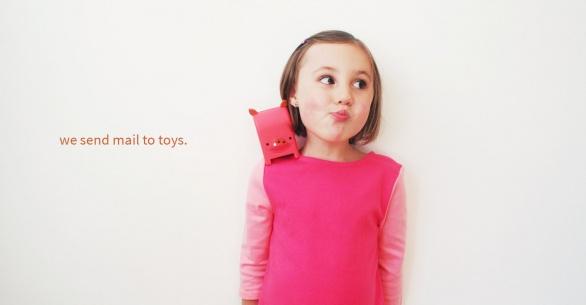 「ネット」 + 「おもちゃ」 = 愛する我が子へ「ToyMail」