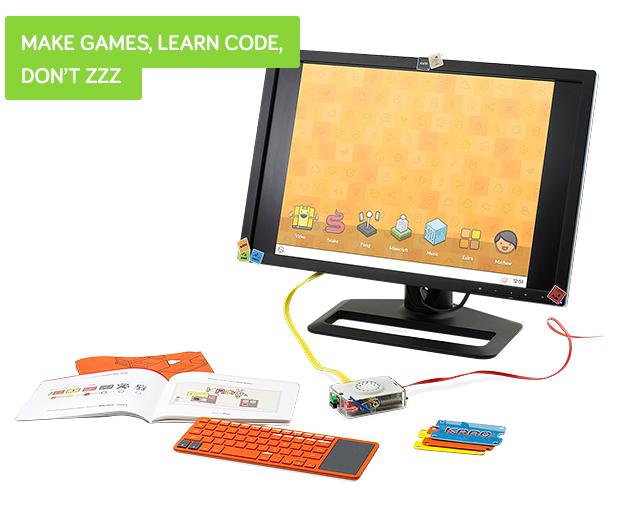 「Kano」 子供でもすぐに作れてしまうコンピュータ!
