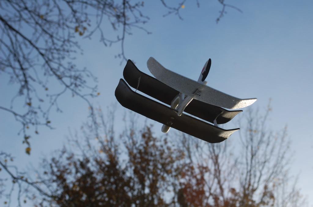 世界初!スマホで操作できる小さな飛行機!「SmartPlane」