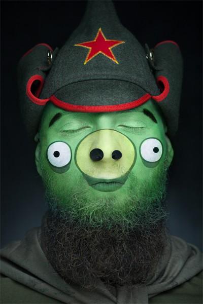 絵かと思ってしまうぐらいリアルなロシアのフェイスアートがすごい!