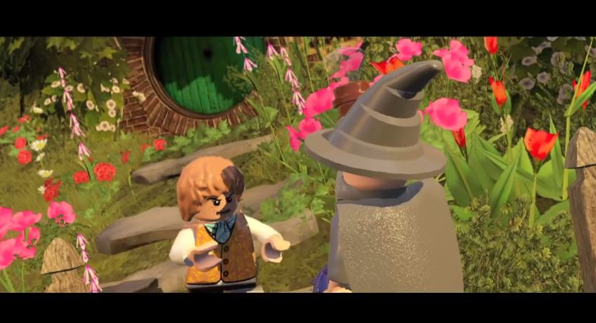 LEGOのゲーム「LEGO The Hobbit」のトレーラーが公開!!