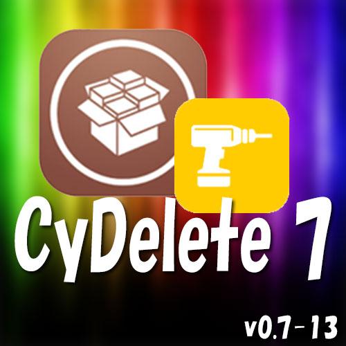[Tweak] Cydiaアプリを簡単にアンインストールできるTweak!!「CyDelete7」