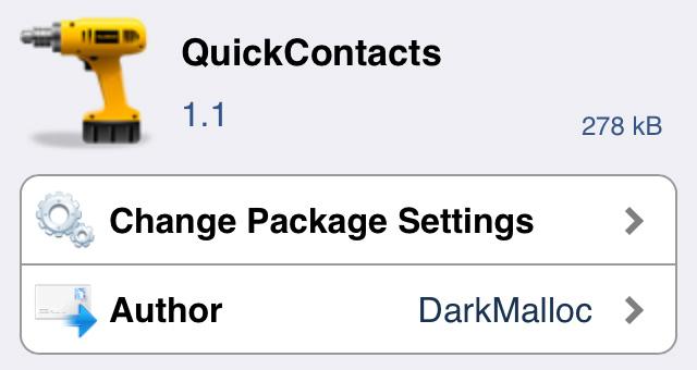 「QuickContacts」ホーム画面から瞬時にお気に入りの連絡先へアクセス!!