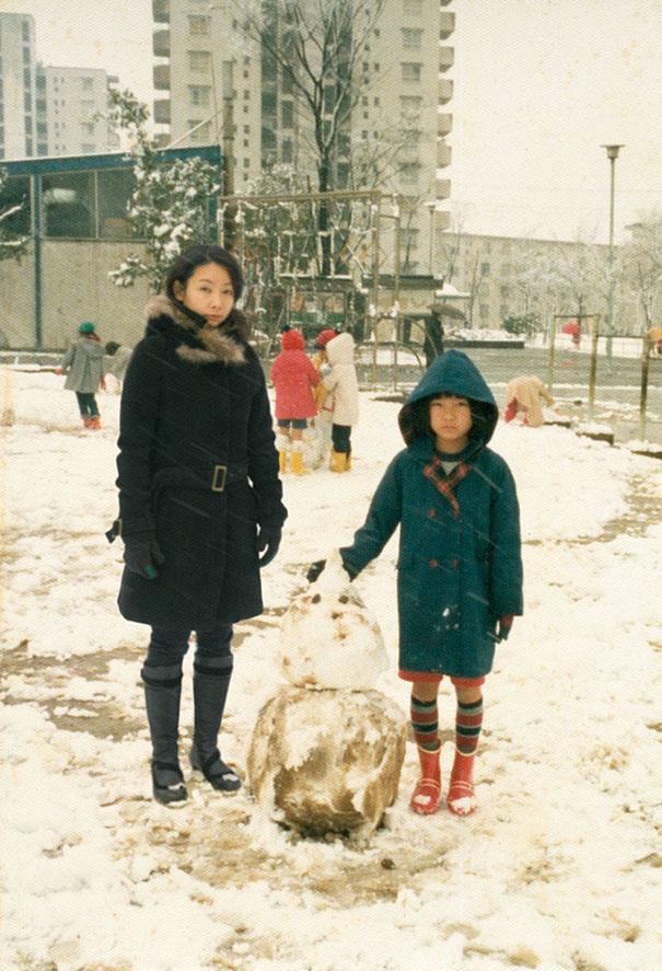子供の頃の自分と今の自分のツーショット写真!!