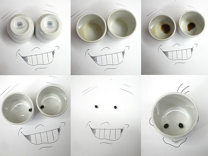 [17 pics] 手書きの絵に小物のオブジェクトを付け足すおしゃれなアート!!