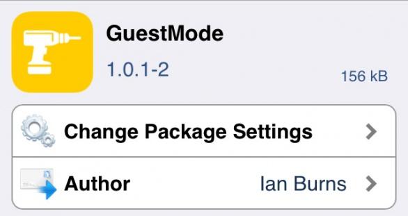 GuestMode パスコード画面にゲストモードを追加!!