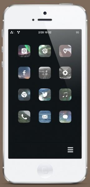 [Setup] iPhoneデザインセットアップ2