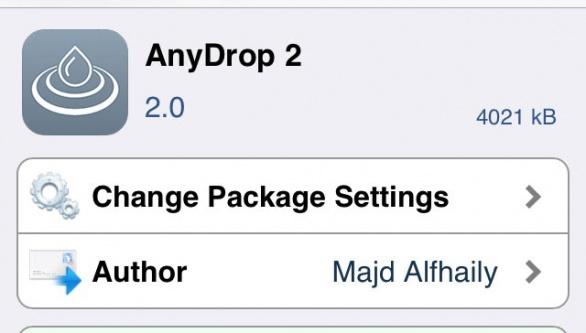 AnyDrop 2 あらゆるファイルをAirDropで送受信できるTweakAnyDropがAnyDrop 2として再リリース!!
