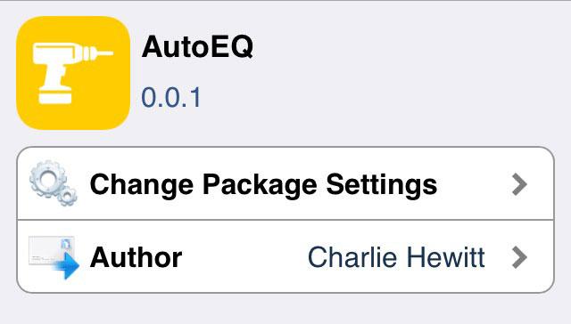 AutoEQ イコライザーを音楽に合わせて自動で切り替えてくれるTweak!!