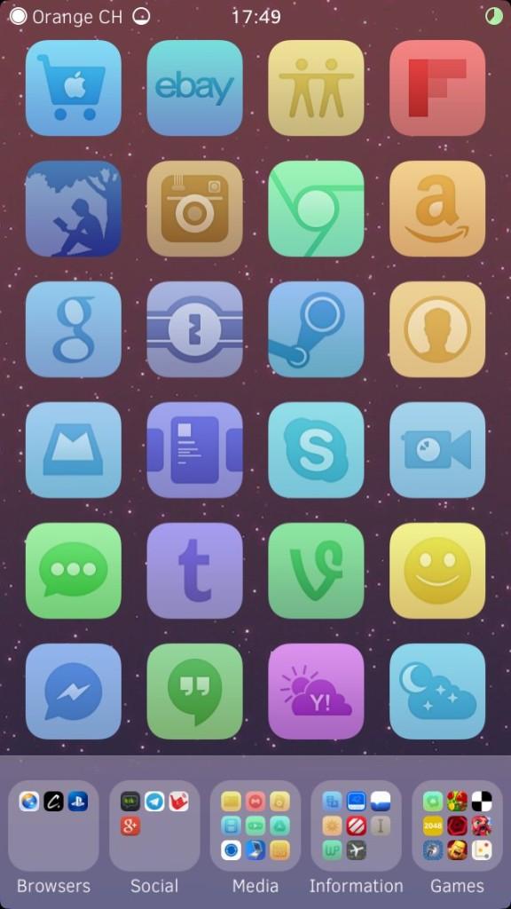 [Theme] iPhone新作アイコン、テーマ6種!!(2014/05/30)