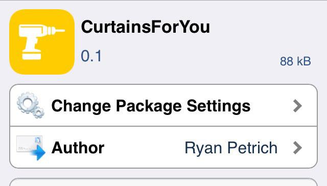 CurtainsForYou スワイプでカーテンを開くように戻るモーションを追加するTweak!!