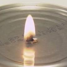Tuna Can Candle
