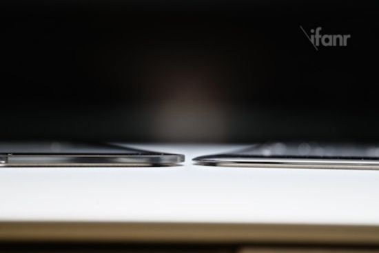 iPhone 6 (4.7インチ) のフロントパネル最新動画。iPhone6は片手サイズに最適化されている?!