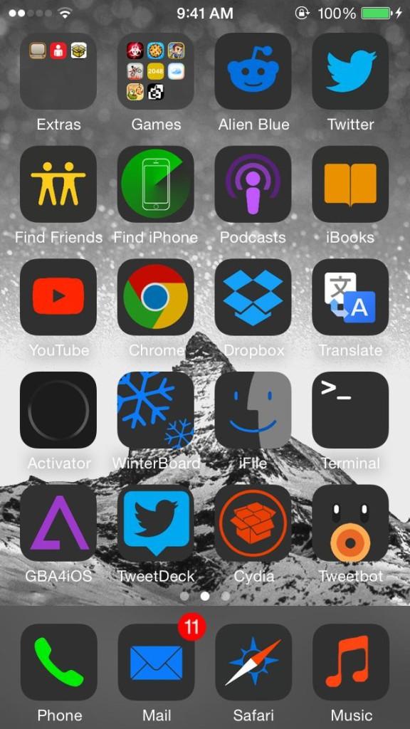 [Theme] iPhone新作アイコン、WinterBoardテーマ4種!!(2014/07/12)