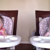 11 Month Old Twins Dancing  2