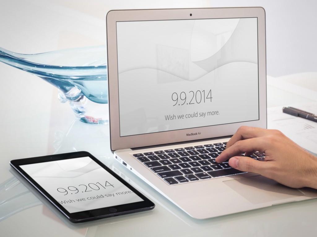 Appleの9月9日イベントの壁紙デスクトップ、iPhone、iPad用が公開される。