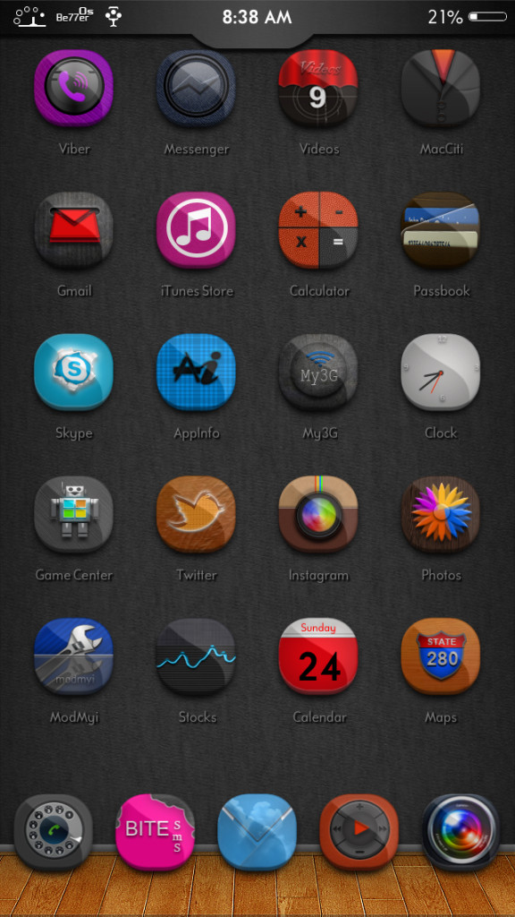 [Theme] 新作テーマ A Falcon, Be77er 0s, Blue iOS 7 他5種 (Winterboard)