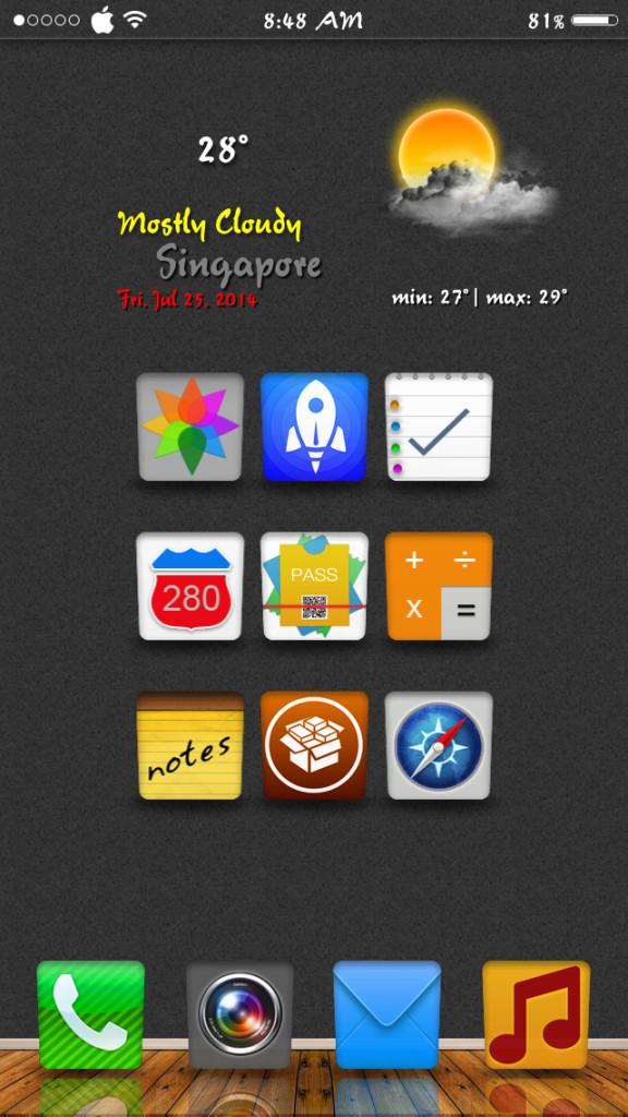 [Theme] iPhone新作アイコン、WinterBoardテーマ5種!!(2014/08/01)