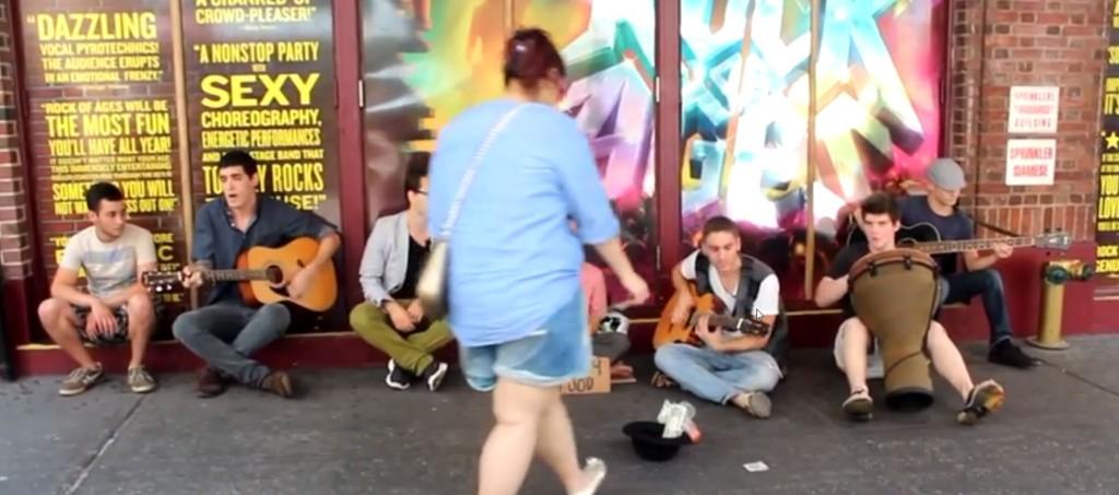 音楽の力でホームレスを救う!人間の優しさが素晴らしい!