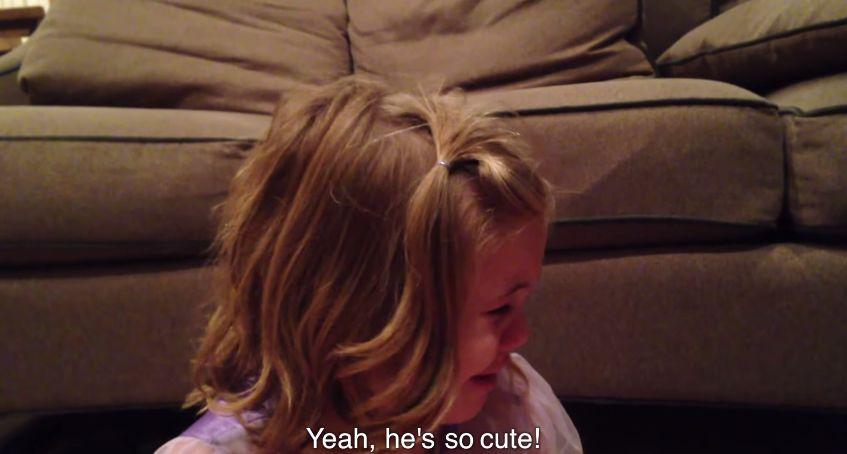 [動画] どうか成長しないで!!と切実に願う小さなお姉さん