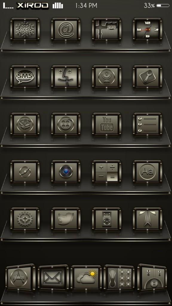 [Theme] 新作テーマ5種!! 01s 712 HD, nokiblackiOS7, taca 他2種(Winterboard)