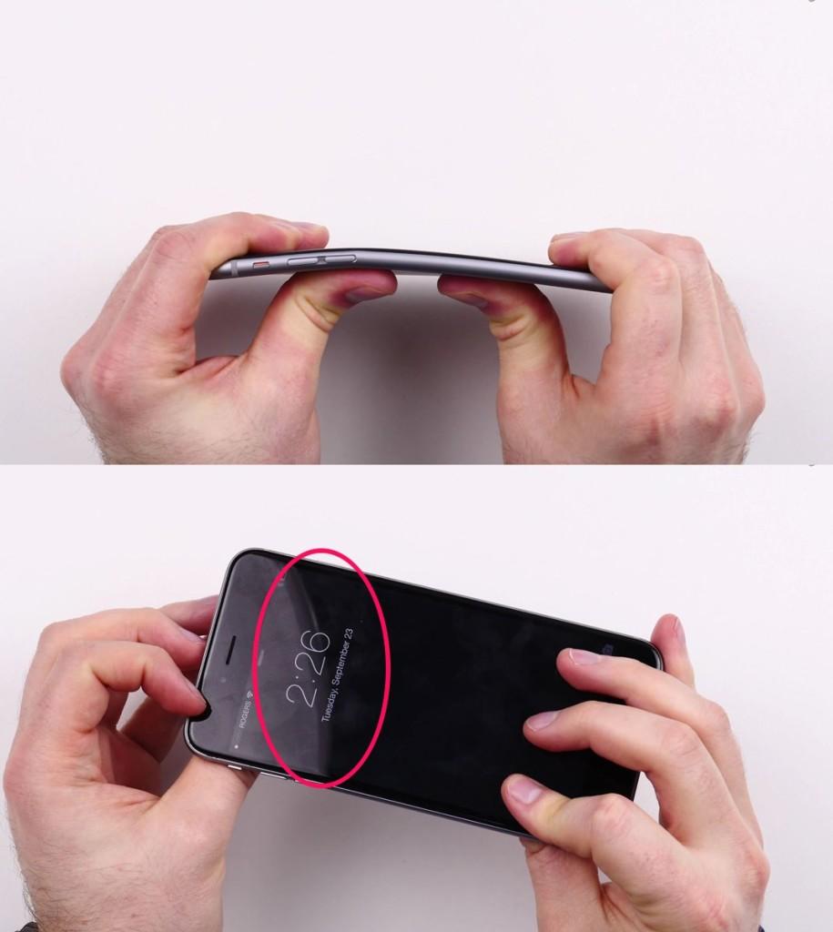 iPhone 6 Plusの折り曲げテストを行ってYoutubeに上げた動画に偽造疑惑?!