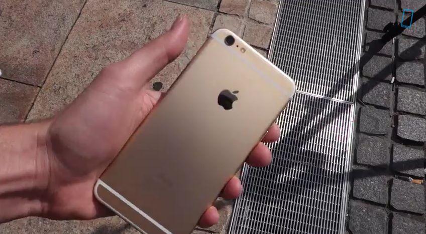 iPhone 6 Plus は割れやすい?!大きければ大きいほどケースが必要だとわかる動画
