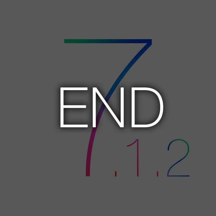 ついにiOS7.1.2へのダウングレードができなくなる。Apple、iOS7.1.2 の署名を停止。