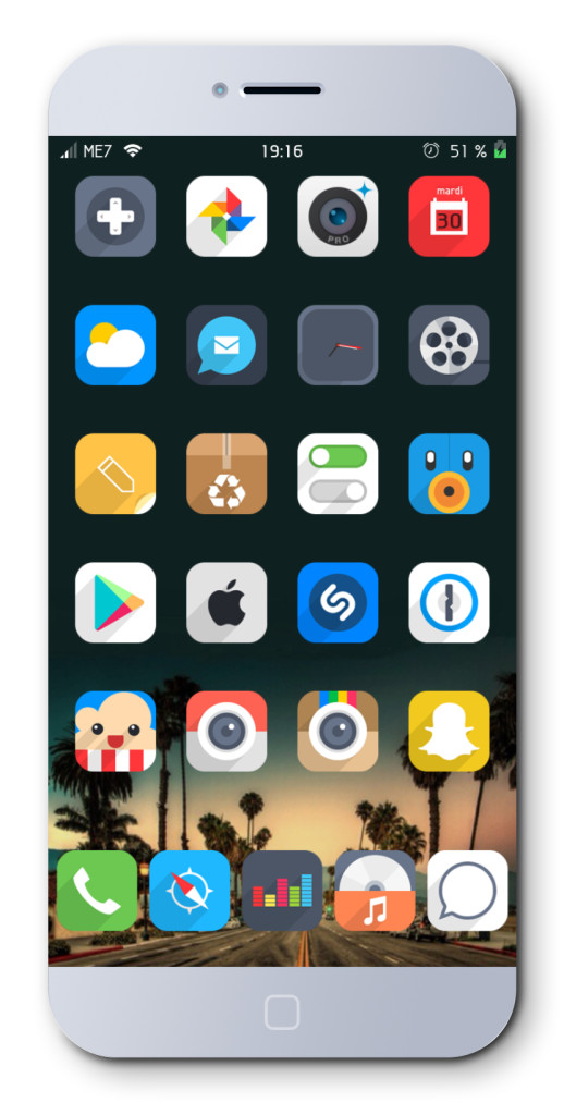 [Theme] 新作テーマ7種!! ALiVE HD, Clear8, Flui 他4種(Winterboard)