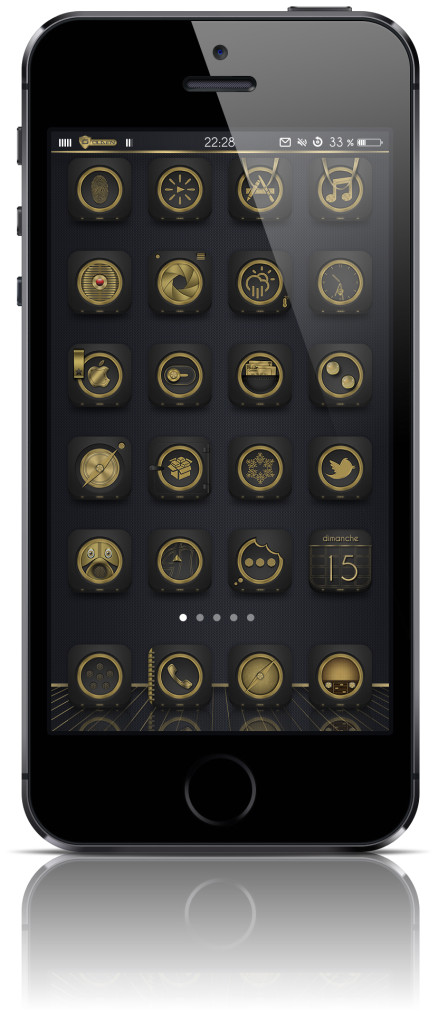 [Theme] 新作テーマ5種!! Golden, Mitosis, Odin 他2種(Winterboard)