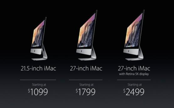 待望の27インチiMac Retina 5Kディスプレイ、2499ドルよりスタート!!
