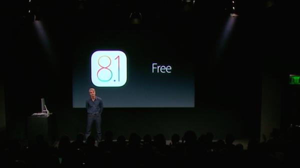 iOS8.1 正式リリースは10月20日、月曜日との発表!!カメラロールが完全復活!!