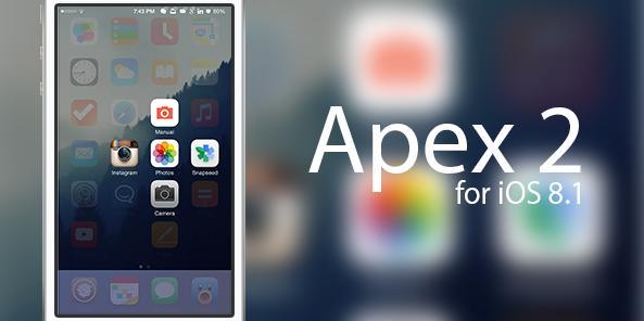 人気のTweak、Apex 2がアップデート。iOS 8.1に対応。