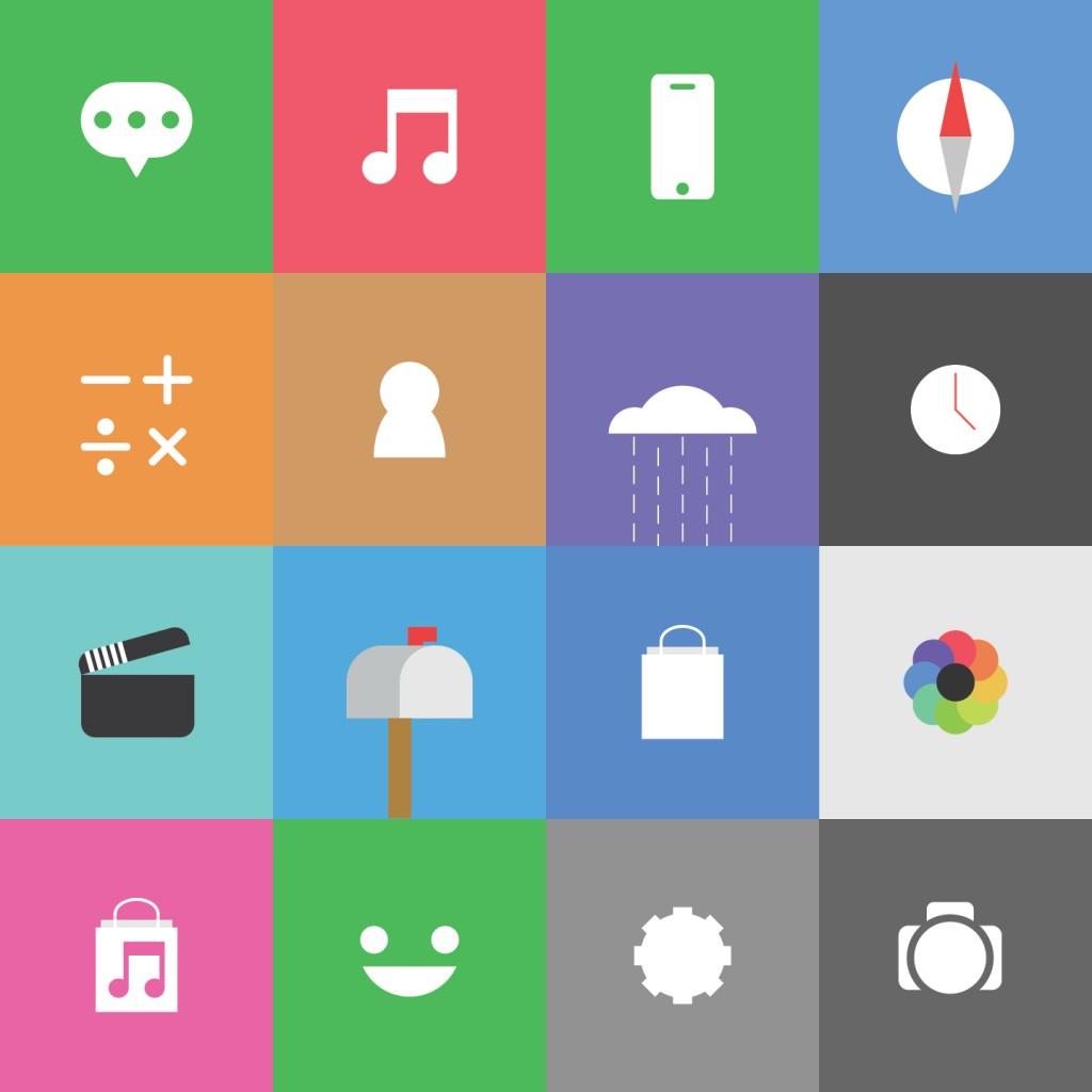 [Theme] iOS 8対応 新作テーマ5種!! Fizz,Flatish,Satcon8,他2種(Winterboard)
