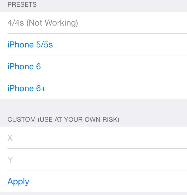 Upscale ベータ版公開。iPhoneディスプレイの解像度を変更できるTweak