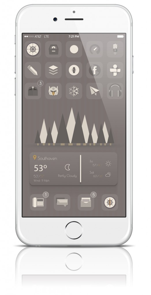 [Theme] iOS 8対応 新作テーマ4種!! AffeCti0n 8, Ar0ma HD, Touchit iOS 8, Zen8(Winterboard)