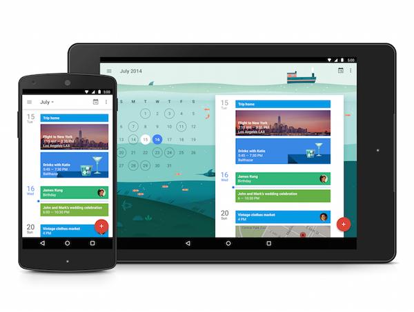 新たなGoogleカレンダーアプリAndroid用がリリース。Gmailと連携ができる高機能アプリに。iOSも取り組み中!!