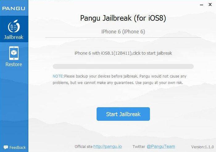 Pangu 1.1.0を使ってiOS 8~iOS 8.1を脱獄する方法!! iPhone・iPad・iPod touch