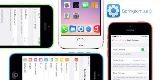 Springtomize 3がアップデートし、iOS 8に対応!!iOS 7で購入しているユーザーは無料で入手可!!
