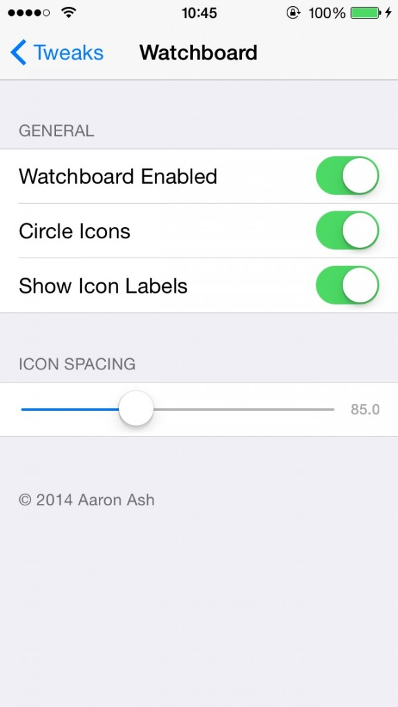 Watchboardがリリース。新たなAppleWatchデザインのホーム画面に早変わりするTweak