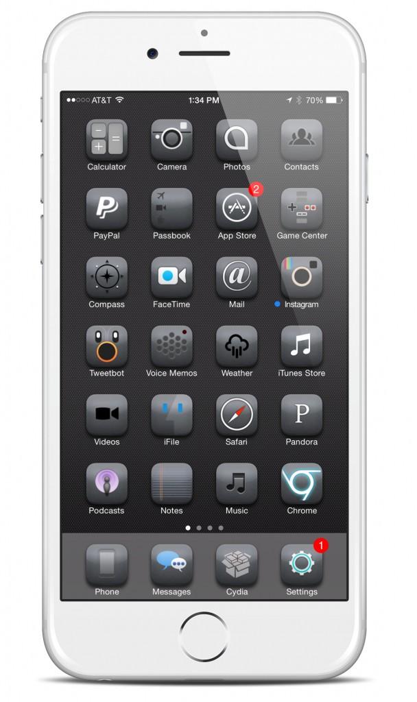[Theme] iOS 8対応 新作テーマ20種!! 0 Hour 8, Antumbra, Arden他17種(Winterboard)
