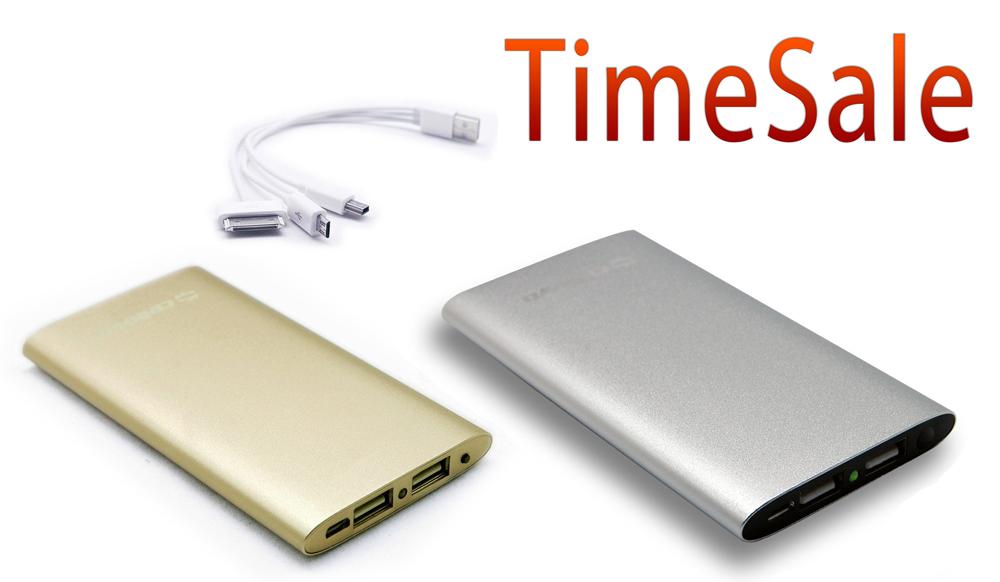 タイムセール: Cellevo モバイルバッテリーが41%オフで販売中。iPhone 6にも対応