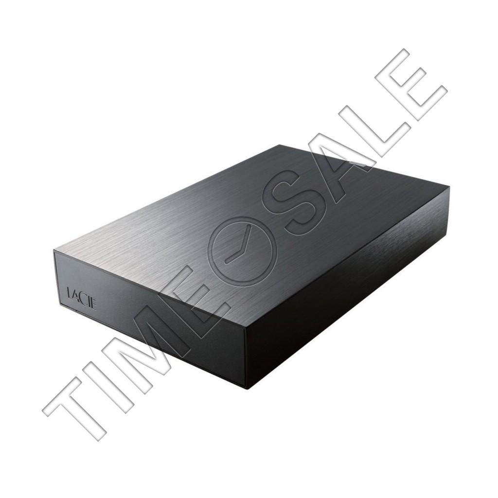 タイムセール: LaCie 3.5インチ外付けHDD 2TBが60%オフ。50台限定で販売中。