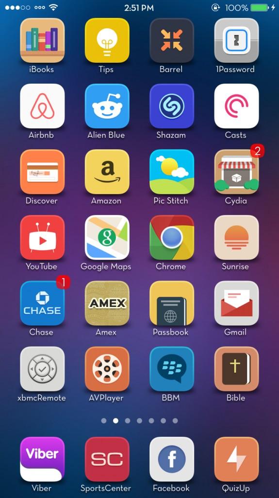 [Theme] iOS 8対応 新作テーマ6種!! Harmony, Laris, Volo8,他3種(Winterboard)