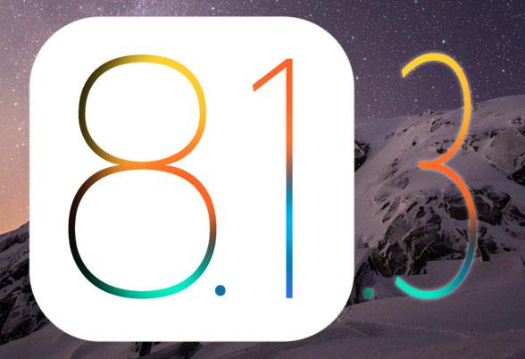iOS 8.1.3が間もなくリリースか。現在テスト段階との報告も。