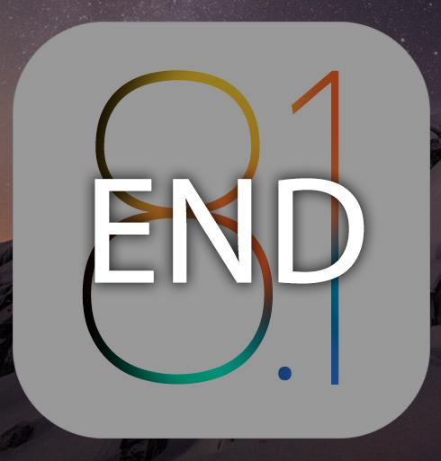 iOS 8.1の署名が停止に。現在iOS 8.1.1のみが署名を発行中。