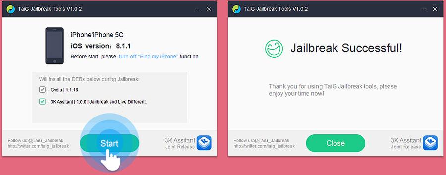 iOS 8.1.1の脱獄ツールTaiGの英語版ウェブサイトが利用可能に