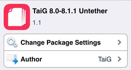 iOS 8.1.1の脱獄ツールTaiGがバージョン1.1.0にアップデート