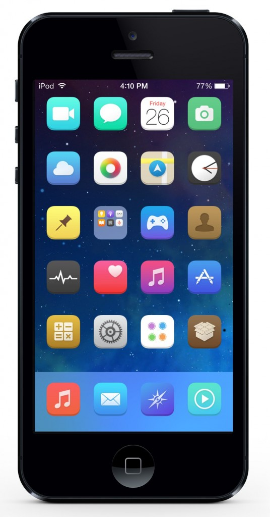 [Theme] iOS 8対応 新作テーマ26種!! Aries, BL1cK HD, Low Poly,他23種(Winterboard)